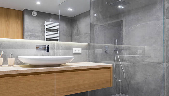 Bathroom renovation ideas at Twin Cities Glass and Aluminium Townsville